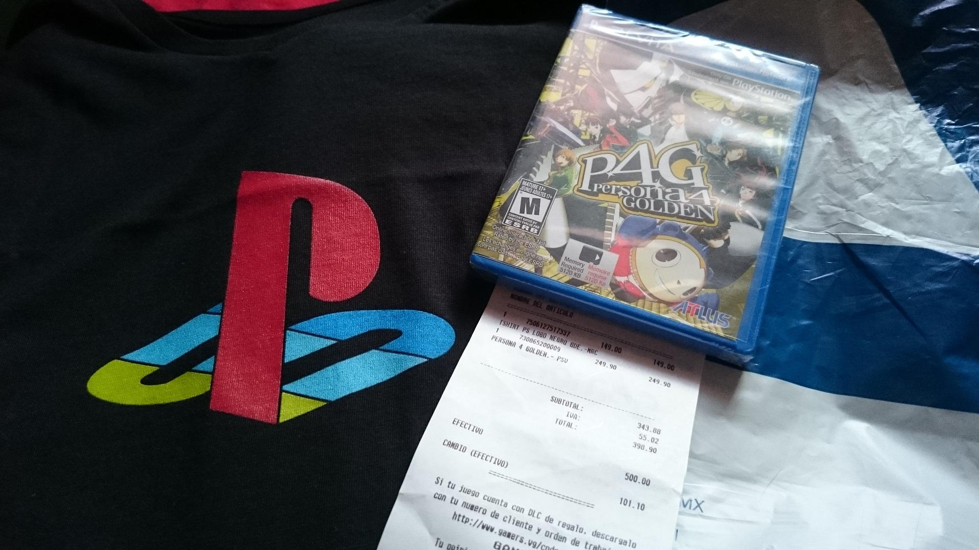 Gamers: Persona 4 Golden para PS VITA