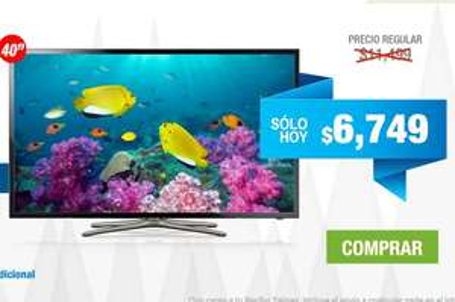 "Tienda Telmex: Samsung LED Smart TV 40"" $6,749"