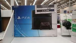 Sam's Club: Consola PS4 a $4,999