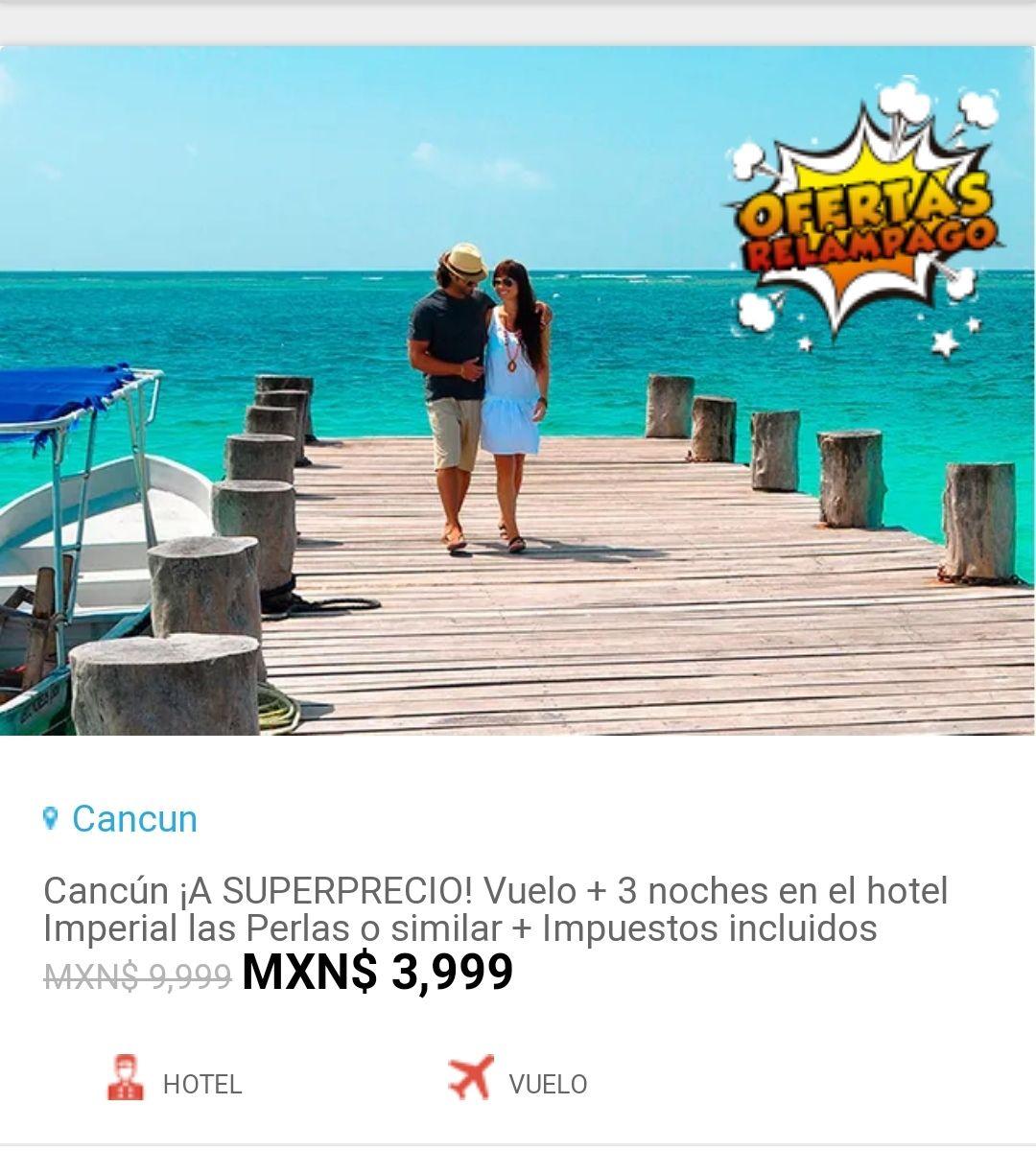 Ckickonero: Viaje a Cancun a un super precio con 60 %