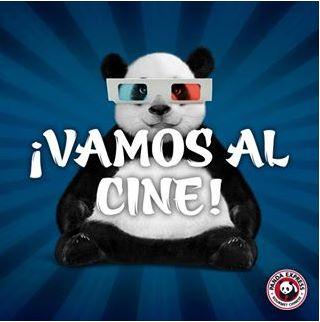 Panda Express: 2 boletos para Cinépolis gratis con consumo