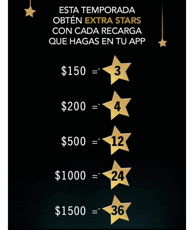 Starbucks: Estrellas extras con Rewards