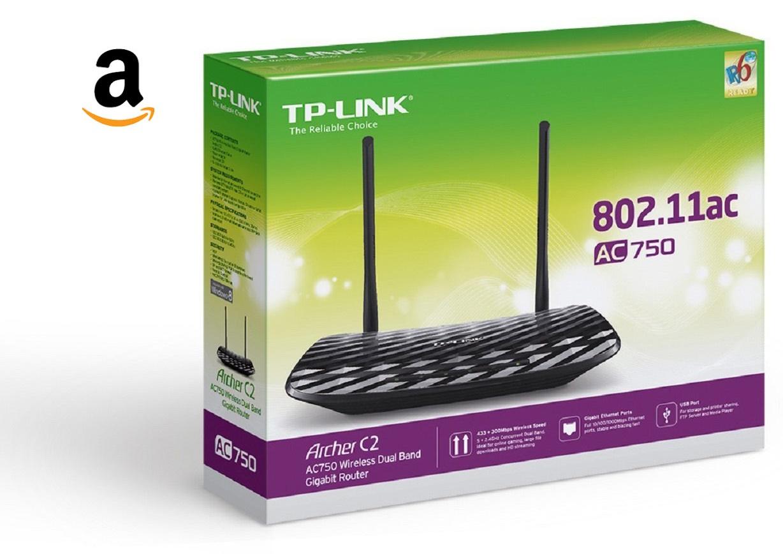 Amazon: Router TP-link Archer C2 Dual Band