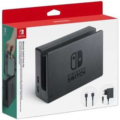 Privalia: Nintendo Dock Set 3 Pzas Nintendo Switch.
