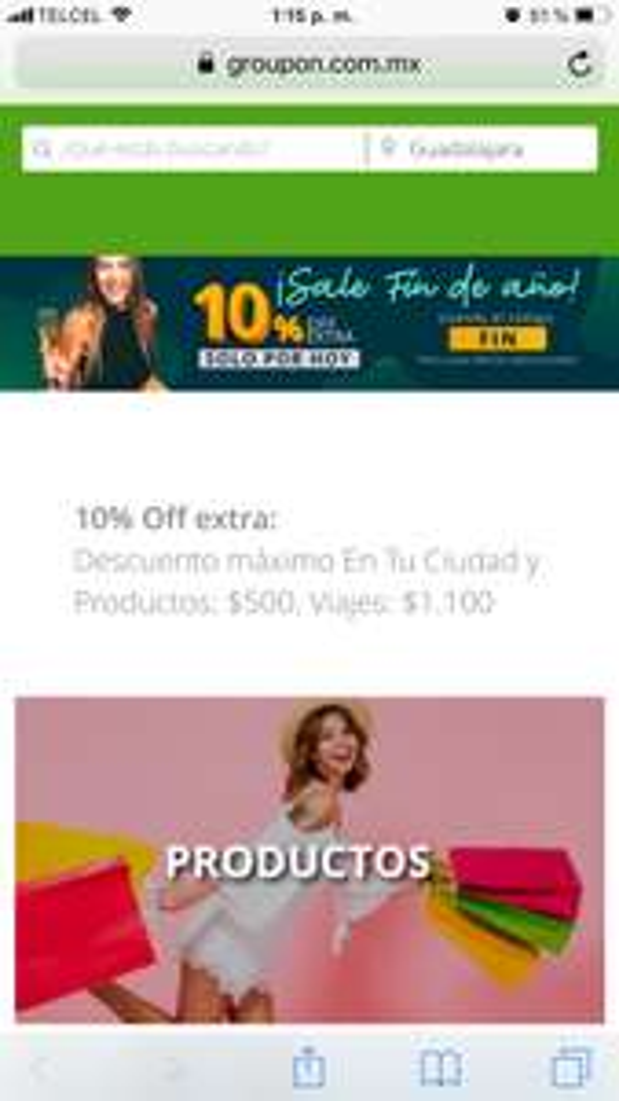 Groupon: 10% EXTRA