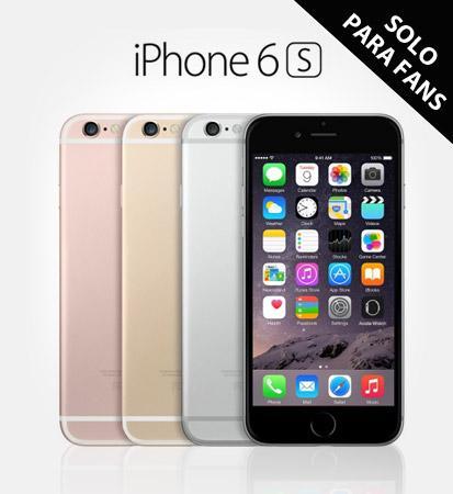 Pontebuso: iPhone 6s 16 gb $2,000 de descuento (15%)