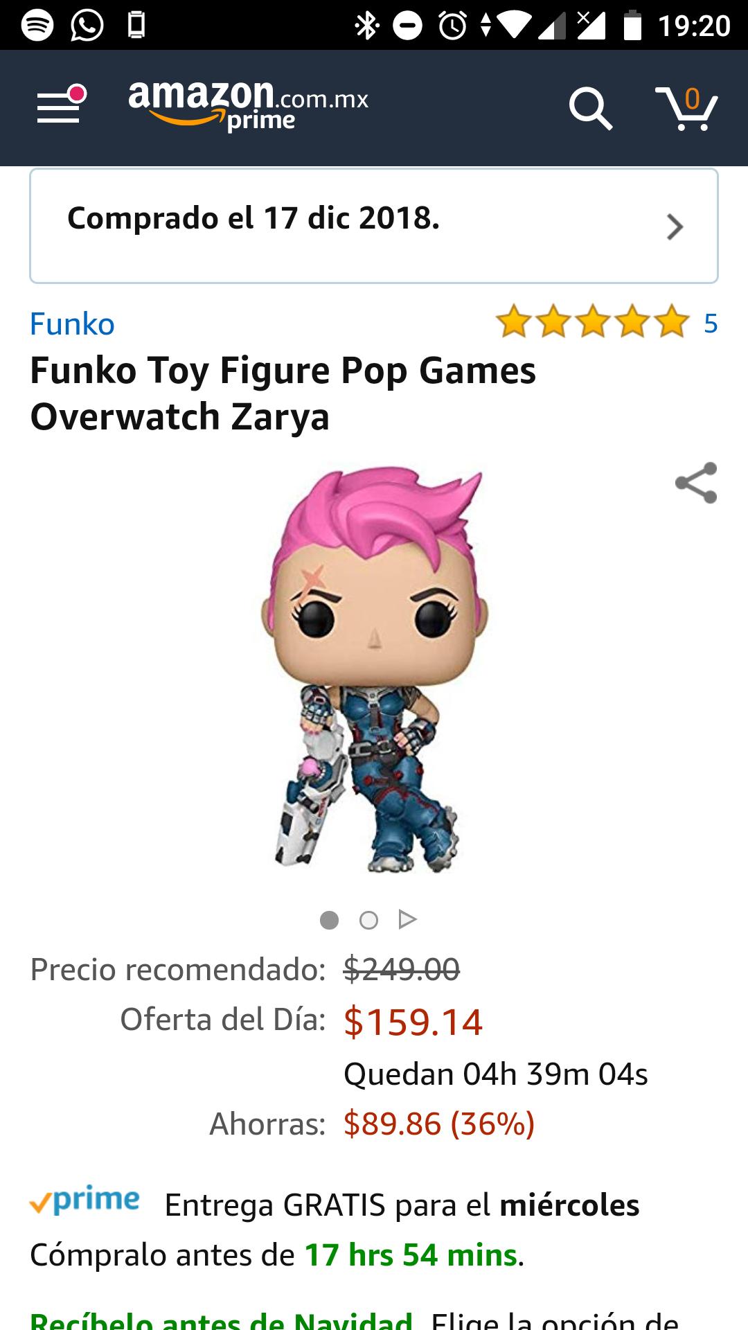 Amazon: Funko Zayra Overwatch