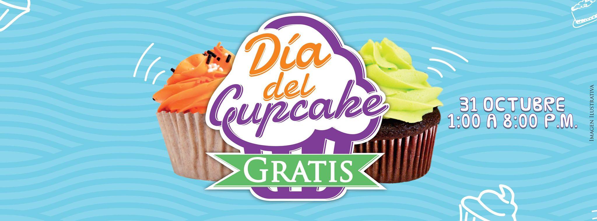 Pastelerías Suspiros: Cupcake GRATIS el 31 de Octubre.