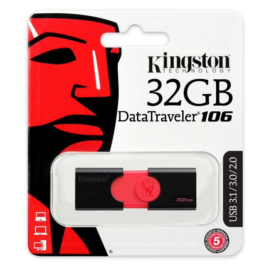 OFI: Memoria USB Kingston 32GB USB 3.1 100MB/s - Envio Gratis