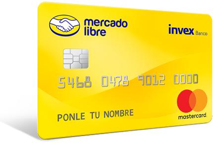 Mercado Pago: promociones de Nueva tarjeta de crédito en alianza con invex