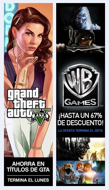 Playstation Store: Grand Theft Auto Sale y Warner Bros Sale Hasta un 67%
