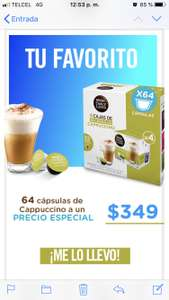 Dolce Gusto: Cappuccino  64 x $349