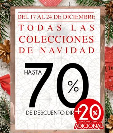 The Home Store: hasta 70% de descuento + 20% de descuento adicional en toda la colección navideña