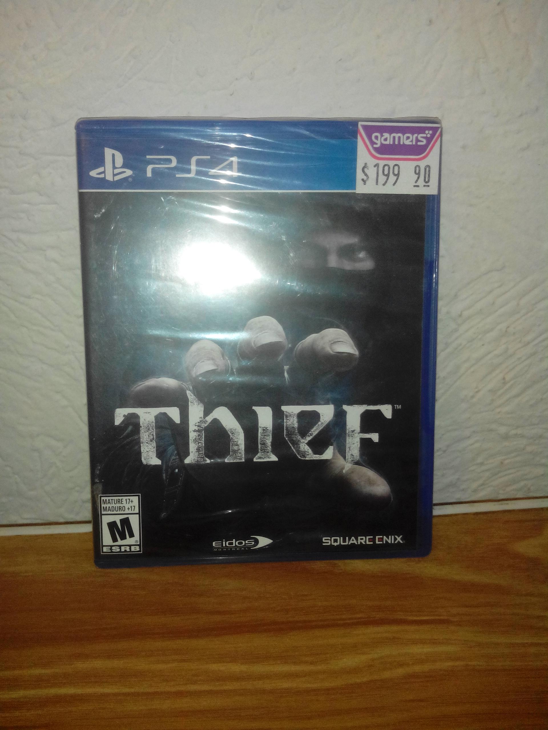 Gamers Retail Thief $199.90 y Fifa 14 $199.90 PS4 y XBOX ONE más Promocritica