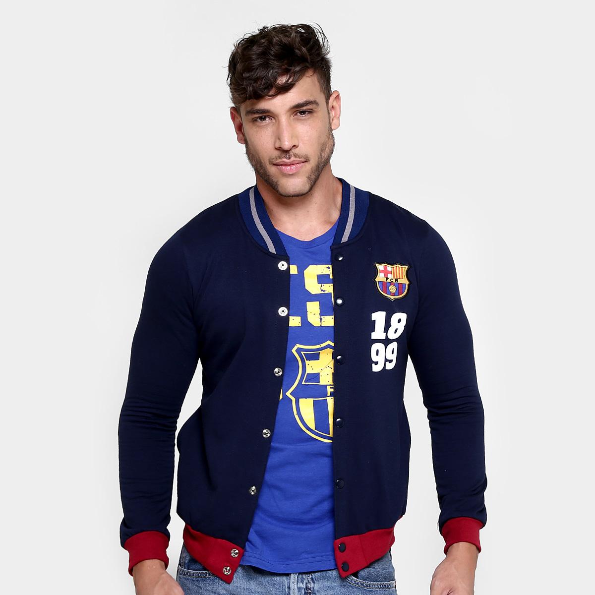 Netshoes: Chamarra Barcelona G-XG