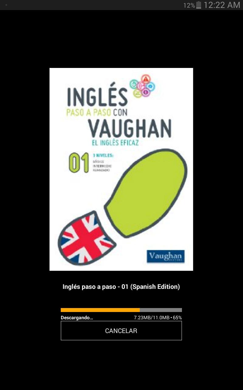En Kindle de AMAZON Curso GRATIS : Inglés paso a paso - 01  de Richard Vaughan con audio descargable