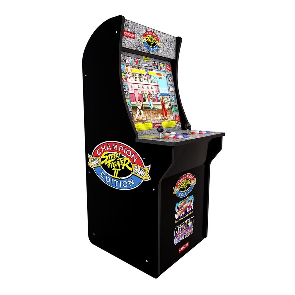 Walmart : Maquinita Arcade 1Up Street Fighter (Hasta 12MSI)