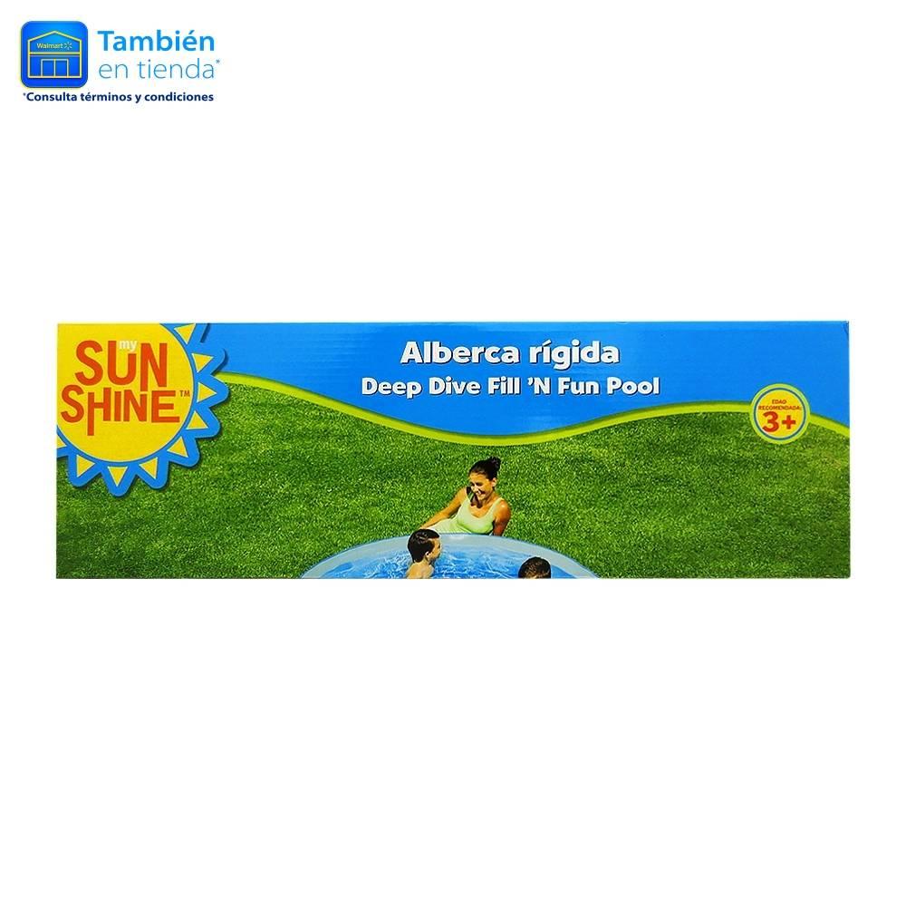 Alberca rigida 1.83 metros  en waltmart on line + envio gratis