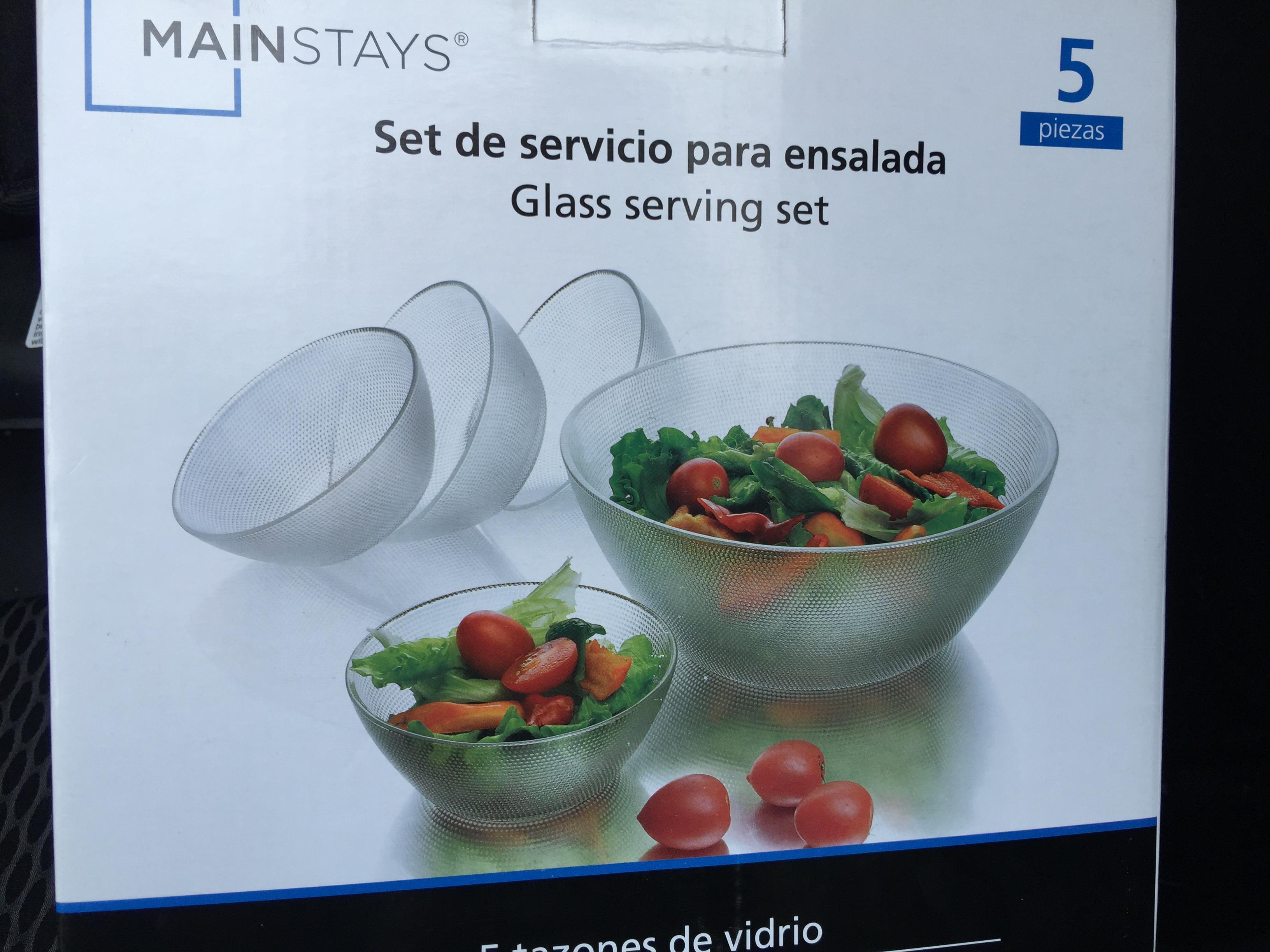 Bodega Aurrerá: liquidación de brassiere Rosy a 10.02, set de ensalada para 4 a 45.01 y más