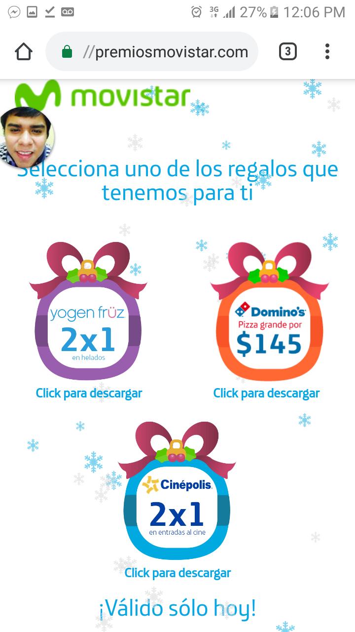 Movistar: Recarga apartir de 10 pesos y obtén un cupón gratis SOLO HOY!