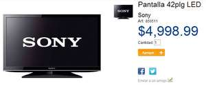 "Sam's Club: pantalla LED Sony 42"" $4,999"
