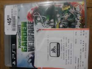 Chedraui: Juego PS3 PLANTS VS ZOMBIES $45