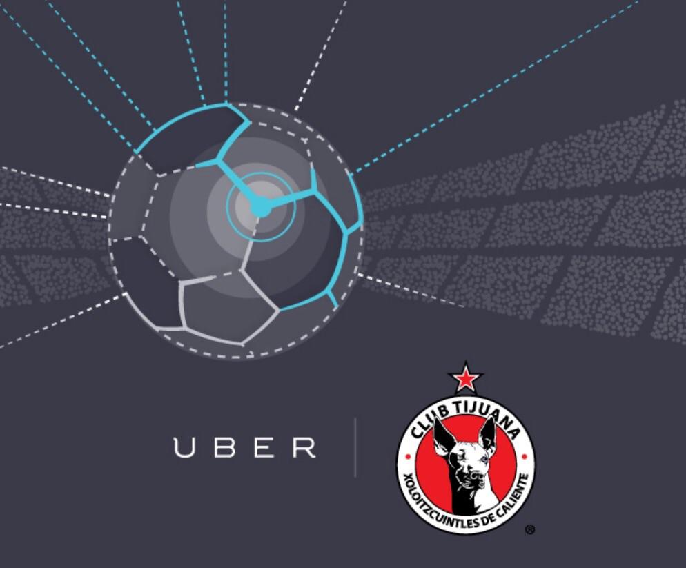 Uber: UberXolos Jerseys, balones, tickets y más solo a $100 (Tijuana)