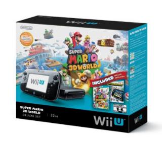 AMAZON: Nintendo Wii U 32GB + Mario 3D World + Nintendoland $4929 + MSI