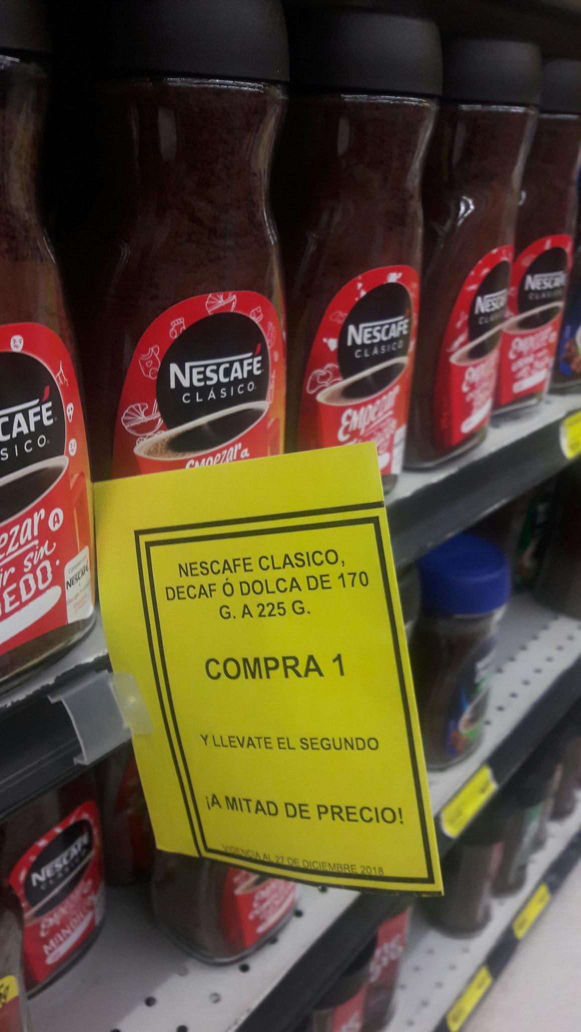 Soriana: Nescafe clasico