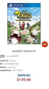 Game Planet: Rabbids invasion ps4 $150