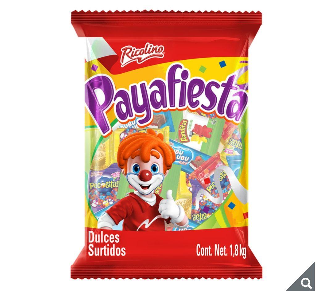 Costco: Ricolino Payafiesta 2 bolsas de 1.8 kg