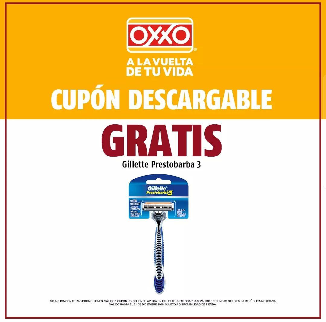 Oxxo: Rastrillo gratis.