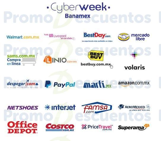 Cyberweek Banamex: ofertas especiales en Amazon, Linio, Walmart, Liverpool y más