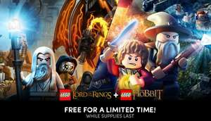Humble Bundle: LEGO® The Hobbit™ & LEGO® The Lord of the Rings™ - GRATIS