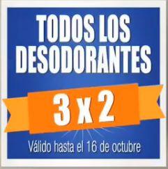 Chedraui: 3x2 en todos los desodorantes