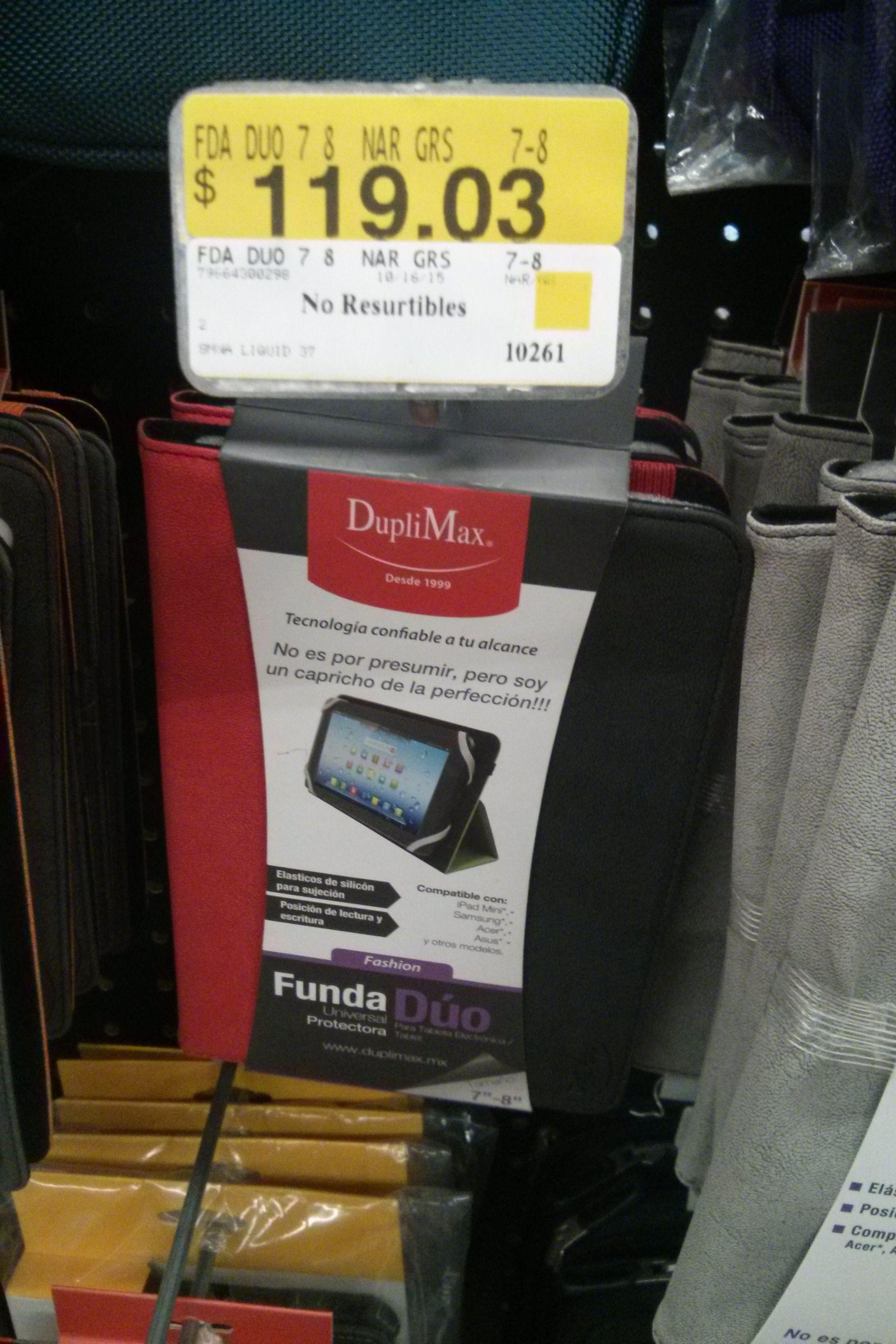 """Walmart :Funda para tablet 7""""/8"""""""