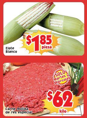 Frutas y verduras Soriana 15 y 16 de octubre: elote $1.85 la pieza y más