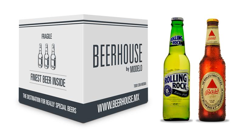 BEERHOUSE: ¡Bass Ale y Rolling Rock con 30% de descuento! más descuento del 25% adicional con cupón
