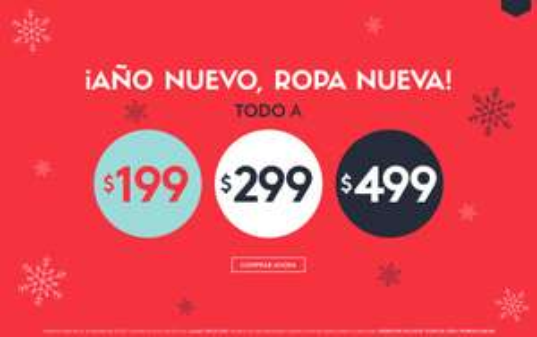 Promoda Outlet: Todo a $199, $299 y $499