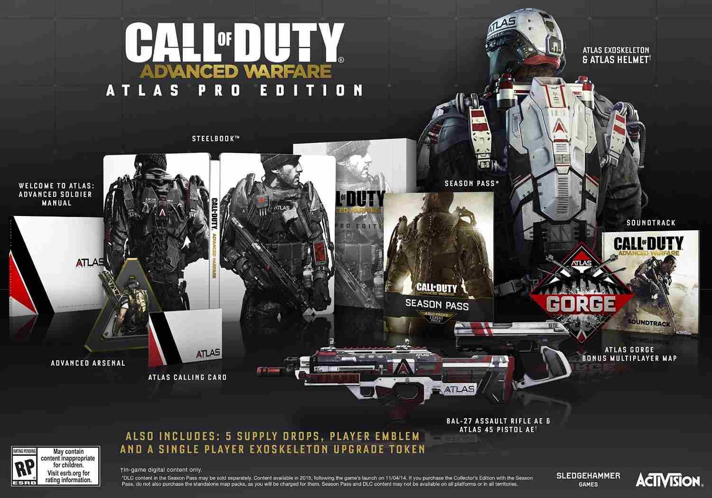 Blockbuster Gamerush: PS3/360 ATLAS PRO EDITION CoD Advanced Warfare $750