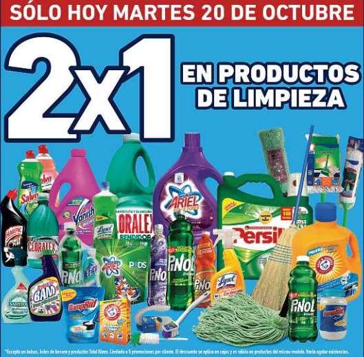 Lowe's: 2x1 en productos de limpieza y más (Monterrey y norte)