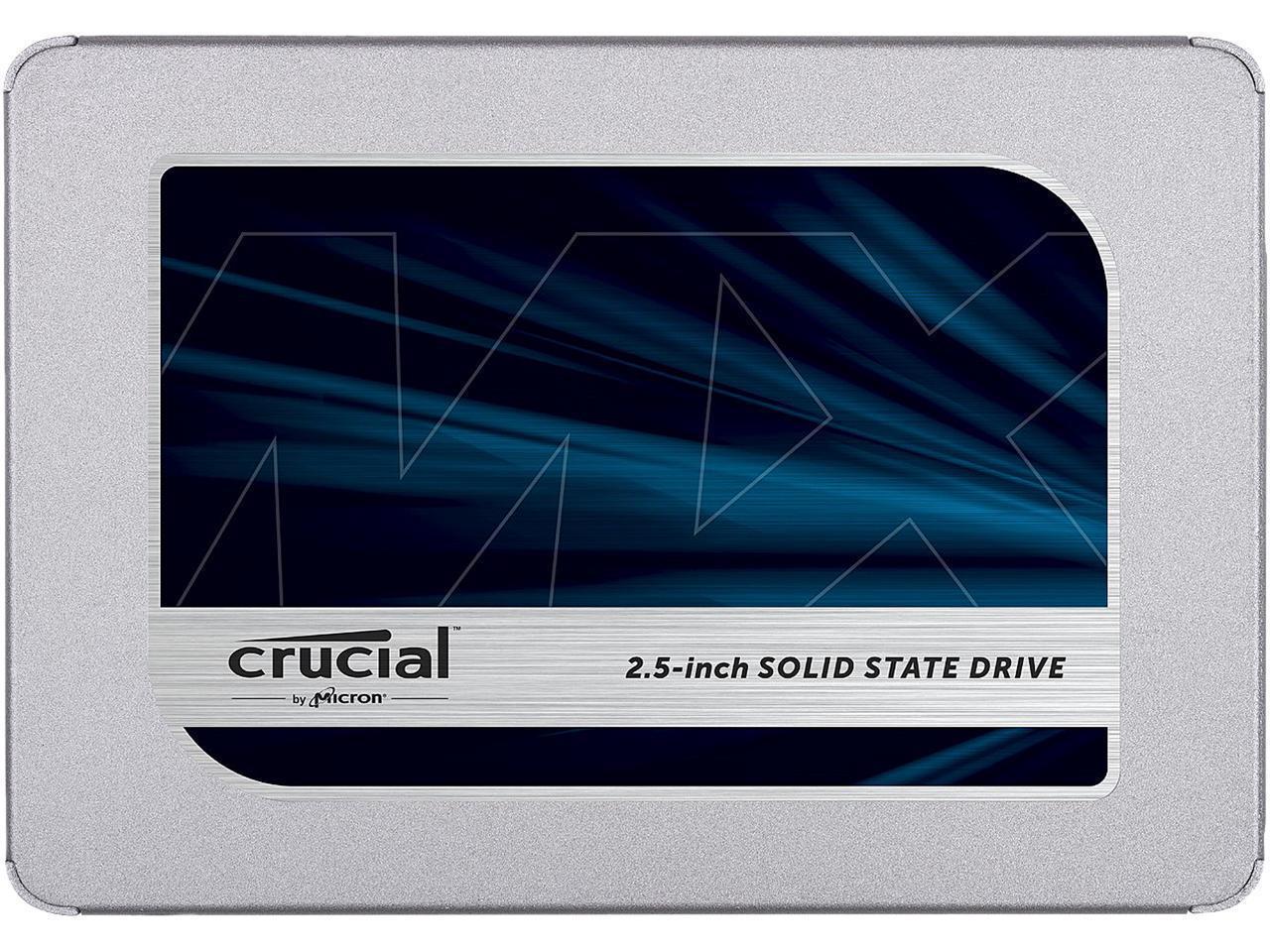 """NewEgg: SSD Crucial MX500 2.5"""" de 500 Gb, impuestos incluidos"""