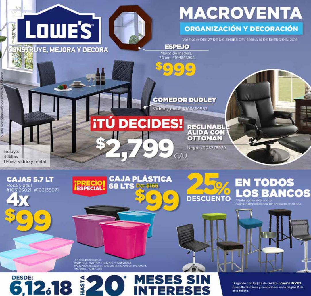 Lowes: folleto macroventa