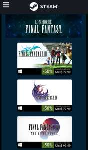 Steam: Descuentos de Square Enix