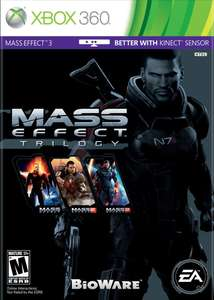 AMAZON: Mass Effect Trilogy Xbox 360