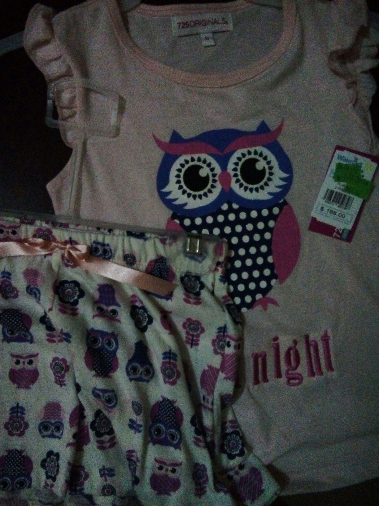 Walmart: Pijamas de niña
