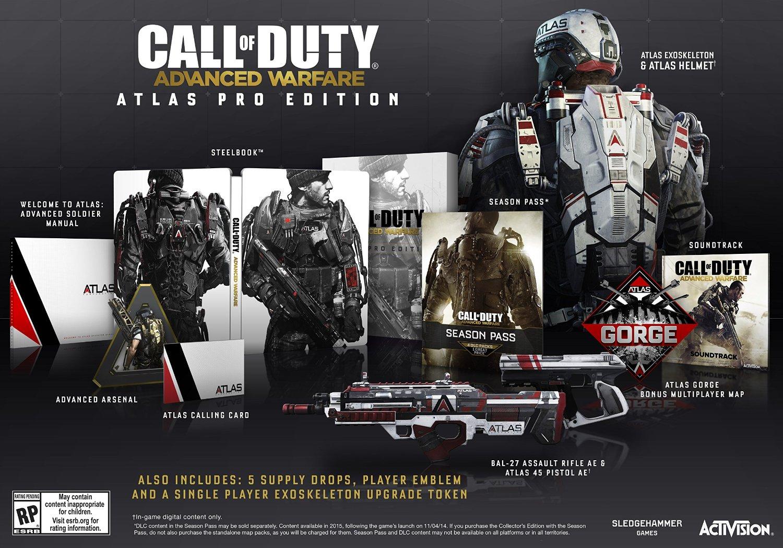 Amazon: Call Of Duty Advanced Warfare ATLAS PRO EDITION PS3
