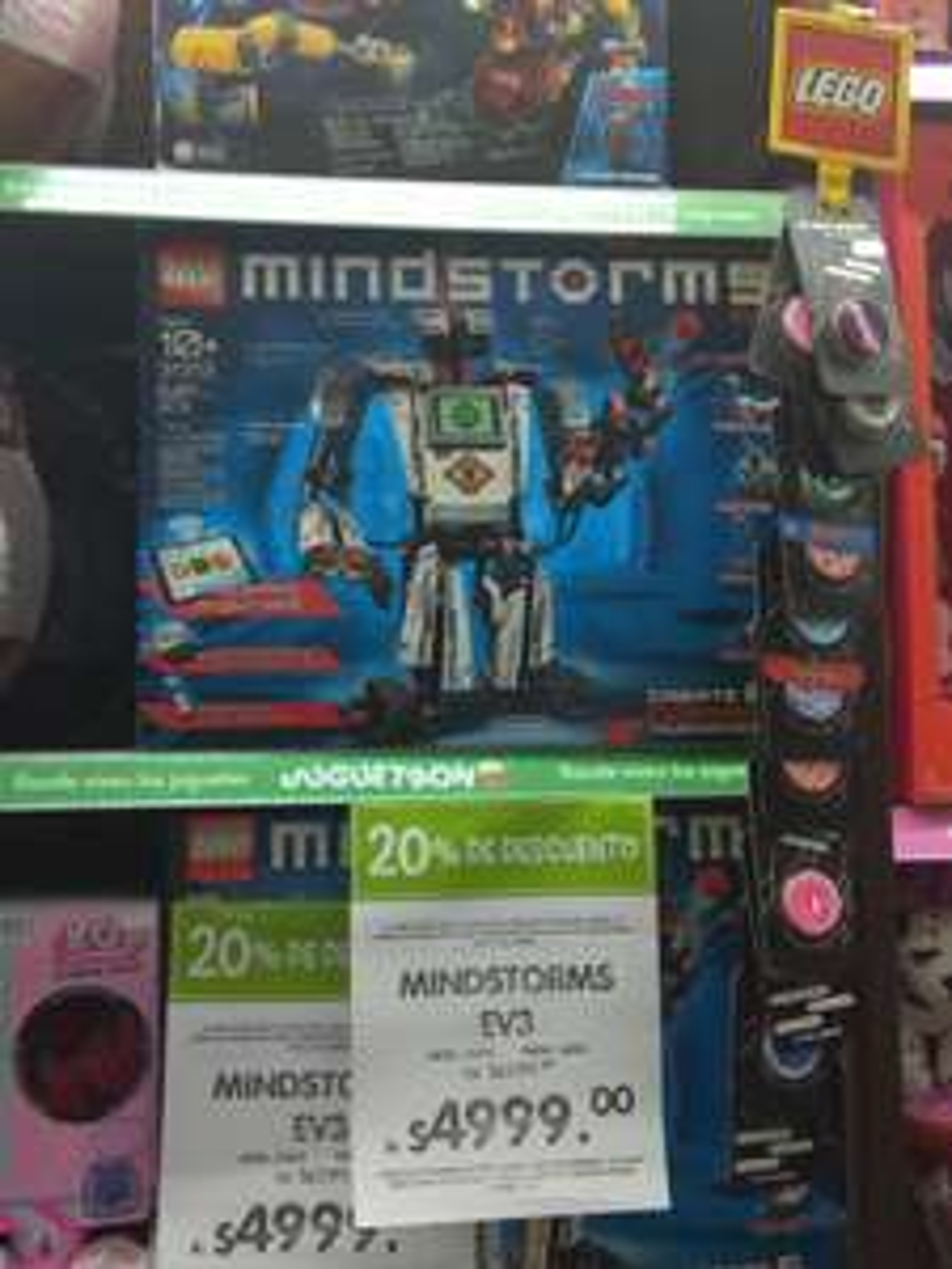 Juguetron: Lego Mindstorms EV3