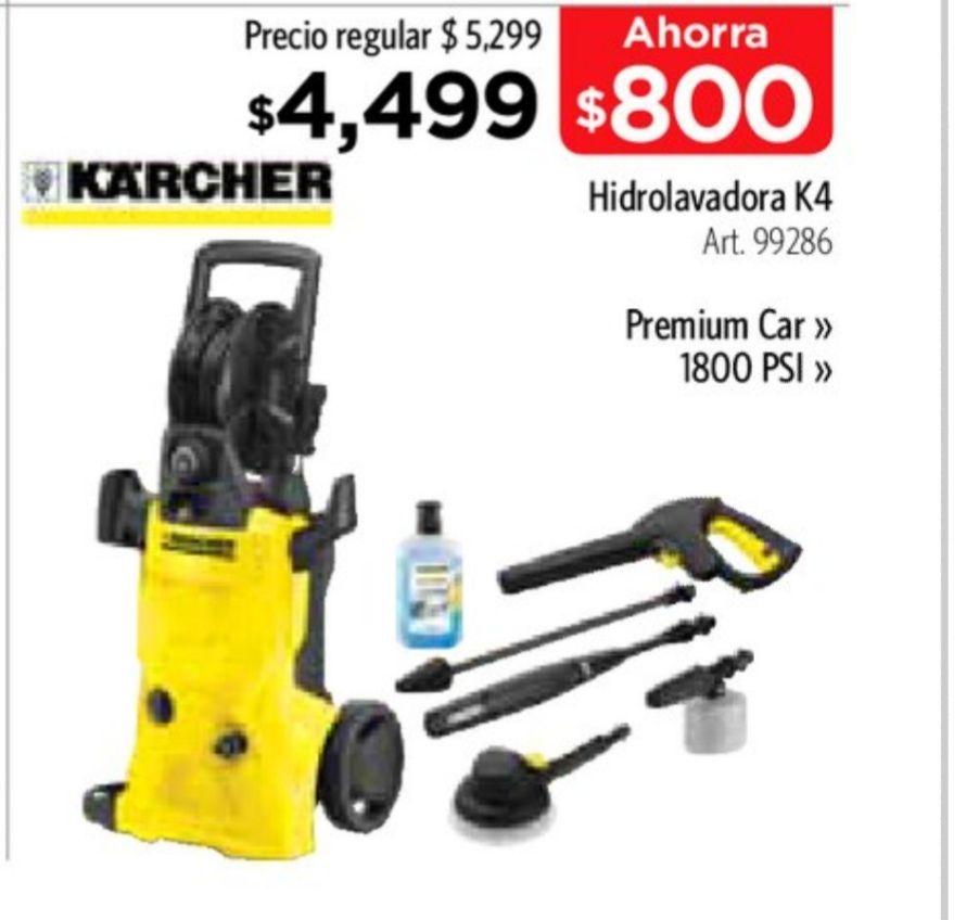 Sam's Club: Hidrolavadora Karcher K4 de 1800 PSI