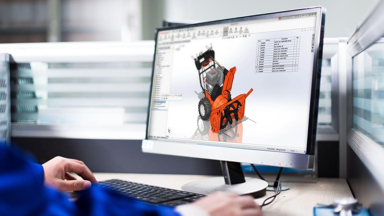 Solidworks 3D 2019, 1 año de licencia gratis